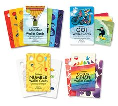So Awesome Wallet Cards - non-toxic, kid-safe play cards for your wallet