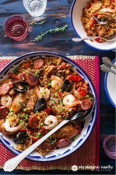 Clean Eating Paella Recipe