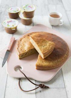 Gâteau moelleux à la compote de pommes – sans lactose - Biodelices.fr