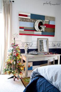 Christmas in the Kids' Rooms | perfectly imperfect