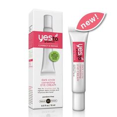 Yes to Grapefruit Dark Circle Correcting Eye Cream is a light-weight eye treatment that is clinically proven to help visibly diminish the appearance of dark circles in four weeks, naturally!  This cream is formulated with Grapefruit, which is packed with Lycopene and fruit acids that help fade age spots and increase luminosity, Indian Gooseberry, rich in anti-oxidants, and Vitamin C to help revitalize and enhance luminosity.