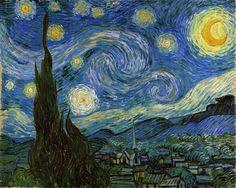 Bild: Vincent van Gogh - Die Sternennacht