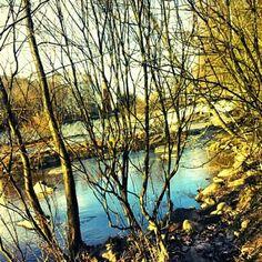 Vantaanjoki keväällä