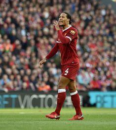 Virgil Van Dijk, Liverpool Fc, Soccer Players, Sports, Fashion, Football Players, Hs Sports, Moda, Fashion Styles
