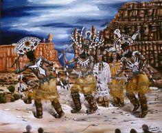 Apache Crown Dance by KnightwingArt