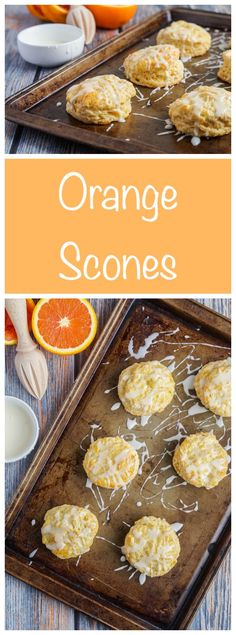 These Orange Scones are a perfect addition to breakfast or a teatime snack. The orange zest and juice give the scones a light and refreshing flavor. There is also an extra bit of sweetness from the…
