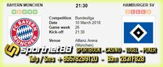 Prediksi Skor Bola Bayern Munchen vs Hamburger SV 10 Mar 2018 Bundesliga Jerman pada hari Sabtu jam 21.30 WIB di Allianz Arena (Munchen). Pertandingan Bundesliga Jerman 2018 live di bein sport