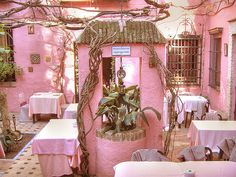 A very PINK patio