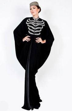stylish arabic abaya / 2012