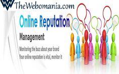 Online Reputation Management fits seamlessly within the context of your search engine marketing program. It is the quickest, most effective solution for dealing with bad press that has surfaced on the search engines about you or your company.  Thewebomania also provides Online Reputation Management service. To know more please visit: www.thewebomania.com.