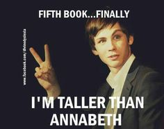 CAN WE JUST TALK FOR A MINUTE ABOUT HOW HAPPY PERCY WAS WHEN HE WAS FINALLY TALLER THAN ANNABETH?!