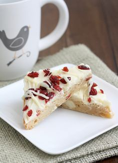 Cranberry Bliss Bars by Tracey's Culinary Adventures, via Flickr
