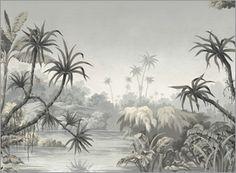 """Tropical Views"" mural by Paul Montgomery Studio."
