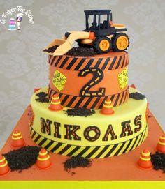 Βulldozer Cake