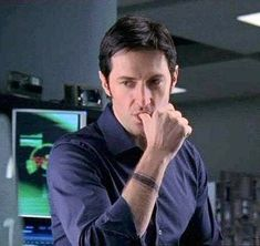 Richard Armitage as Lucas North on MI-5... have never wanted to be a thumb before...