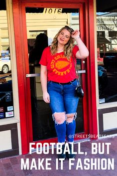 must have fashion-forward football tops Football Tops, Football Gear, Football Season, Kansas State Football, College Football Games, All Nfl Teams, Nfl Merchandise, Nike Gear, Nfl Playoffs