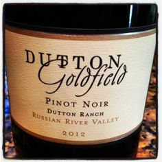 The Nittany Epicurean: 2012 Dutton Ranch Pinot Noir
