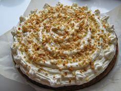 Co si dneska dám? : Mrkvový dort s tvarohovo-šlehačkovým krémem