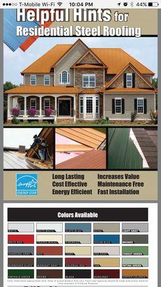 Menards Residential Steel Roofing. Black.