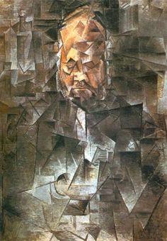 picasso.punt.nl Ambroise Vollard, olieverfschilderij, 1910