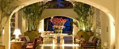 Lobby of Le Saint Geran, Mauritius