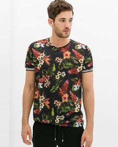 DECIBEL Full button up shirt All-over hawaiian | Men's Fashion ...