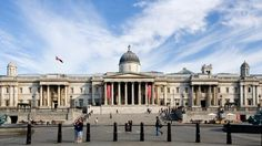 The National Gallery is an art museum on Trafalgar Square in London. Founded in 1824, it houses a collection of over 2,300 paintings dating from the mid-13th century to 1900.