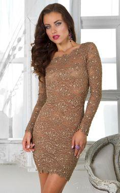 Pretty Scalloped Beading Lace Homecoming Dress at Storedress.com