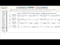 Music Instrument and Theory Tool Visualizations. A Riot of Notation Colourings - YouTube