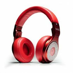 Beats By Dr Dre Pro With Red/White Diamond Headphones