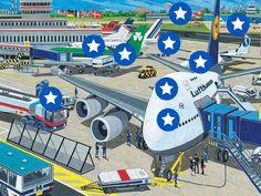 Interactieve praatplaat:Het vliegveld. by ingrid