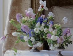 """""""I hope that wherever you are today, you are enjoying some new shoots of interest in your daily life""""…. flowers and reinvention - MY FRENCH COUNTRY HOME"""