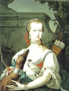 Maria Amalia of Austria,Duchess of Parma. She was the daughter of The Empress Maria Theresa.