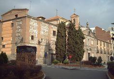 Monasterio de las Descalzas Reales, fachadas lateral. Madrid España