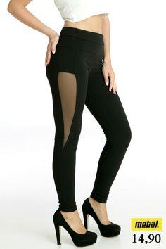 *Κολάν σκούμπα με τούλι στο πλάι. *Τιμή: 14,90 *Μέγεθος: S, M *Χρώμα: Μαύρο *Κωδικός: COLN-0391 Black Jeans, Pants, Fashion, Trouser Pants, Moda, Fashion Styles, Black Denim Jeans, Women's Pants, Women Pants