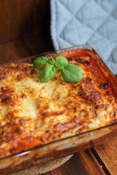Cannelloni mit Ricotta und Spinat – in Tomaten- und Béchamelsauce