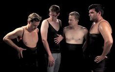 Men trying on spanx sounds like a female revenge but it's actually a funny fashion experiment. What do you think would happen if men tried on our beauty tricks? Watch their hilarious reactions!