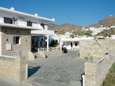 Helena Hotel at Ios Island Cyclades Greece