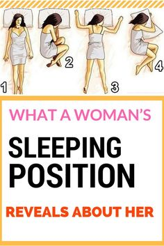 WHAT A WOMAN'S SLEEPING POSITION REVEALS ABOUT HER^%#2