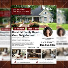 Real Estate Company Open House Template  House Template Open