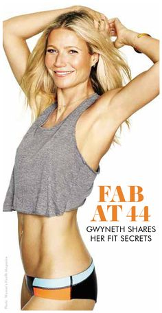 Gwyneth Paltrow is sharing her secrets to getting flawless sculpted abs, just in time to work off the muffin top and get spring break ready! Womanista.com