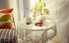 """Picture from """"A moment of indulgence"""" - project by interiordelight. Take a break. Forget everything and take a moment to indulge in a sensory treat. Take A Break, Shabby Chic, In This Moment, Table Decorations, Interior Design, Design Projects, Forget, Furniture, Home Decor"""