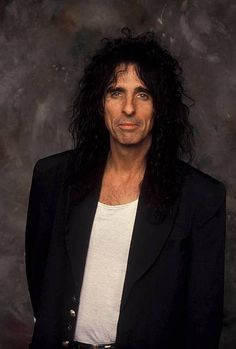 Can I just take a second too appreciate his hair? and most of all his over all perfectness Alice Cooper, Hair, Strengthen Hair