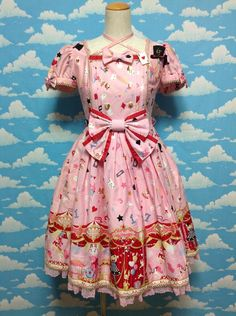 Star Night Theater OP in Pink from Angelic Pretty - Lolita Desu