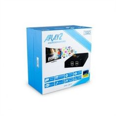 Android Media Player - 3go APlay2 Full HD Android 4.4 Wifi 4 x USB HDMI Centro Multimedia, Android 4, Magazine Rack, Wifi, Usb, Home Decor, Decoration Home, Room Decor, Home Interior Design