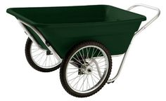 Smart Carts Garden/Utility Cart with Spoke Wheels - Garden Carts at Hayneedle