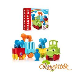 A fantastic 25 piece set introducing children to the magic of magnetism in a fun and safe way. Presents For Boys, Gifts For Girls, Like A Lion, Childrens Gifts, Yoshi, Bright Colors, Magnets, Train, Create