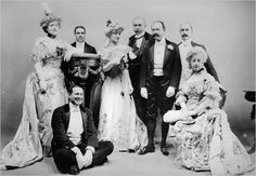 A party including Mrs. Stuyvesant Fish and Stanford White