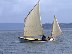DoryMan: Caledonia Yawl from Grapeview Boatworks