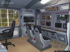 Steve Doman Builds 'Star Trek'-Themed Cabin Out Of Junk -- But Isn't A 'Trekkie'